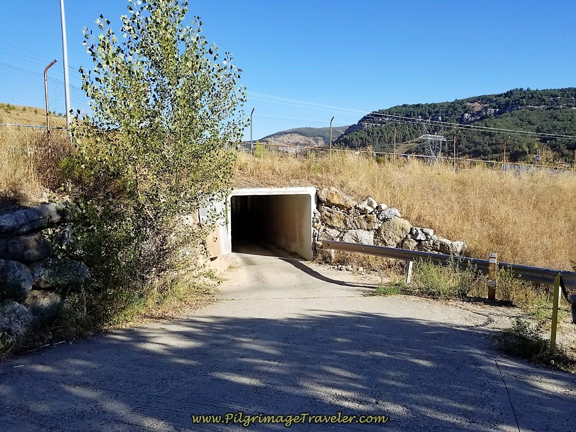 Join Paved Road at Tunnel