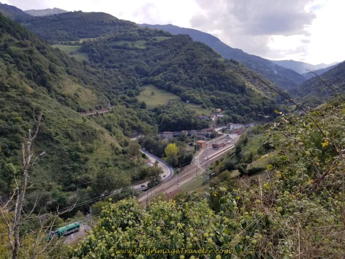 Look Back at Puente de Los Fierros from Viewpoint