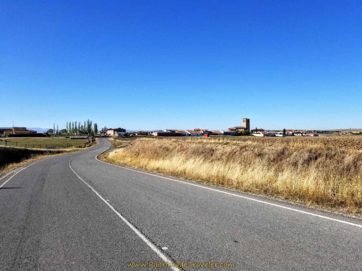 Narros del Castillo Ahead