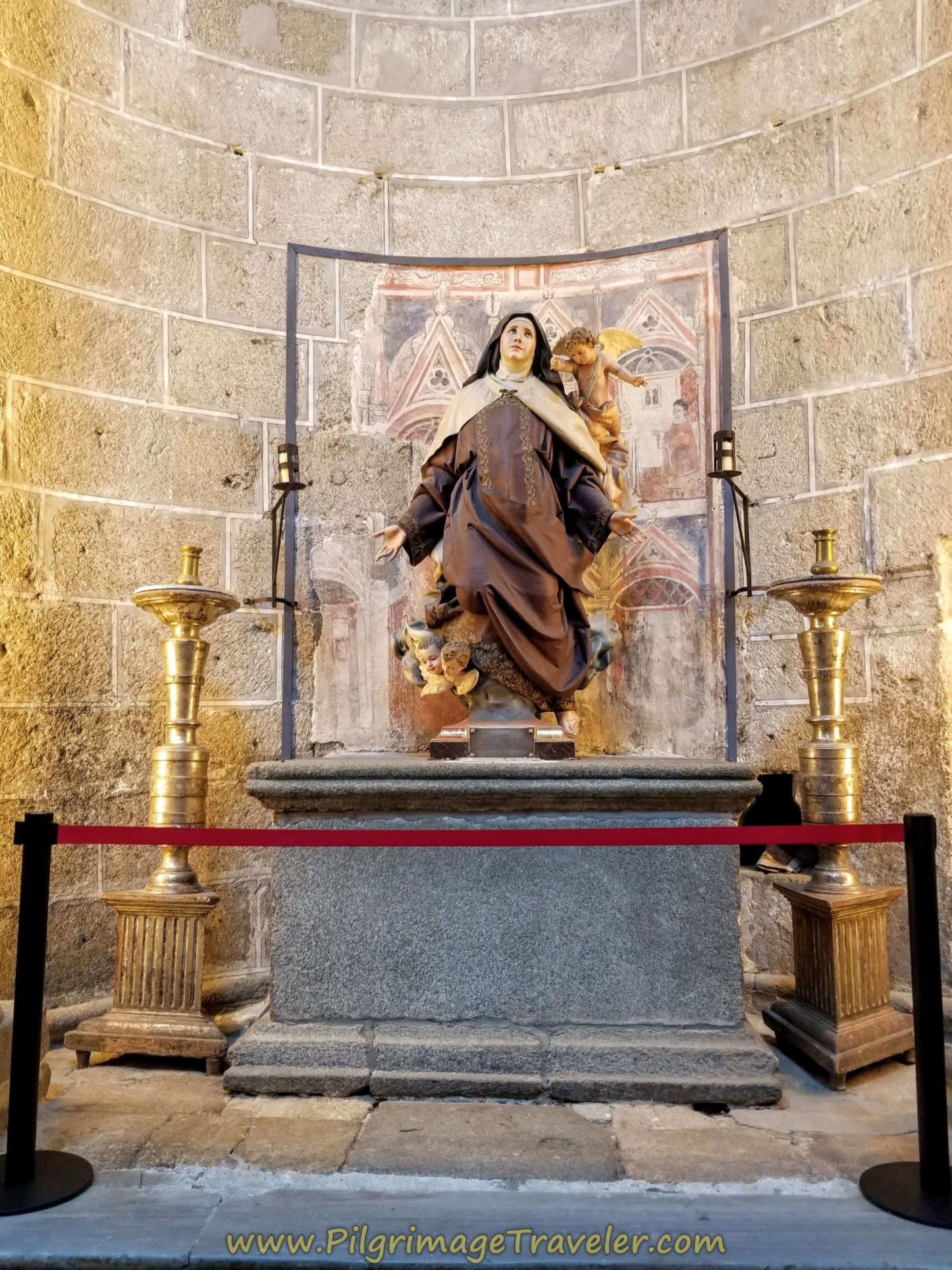 Altar to Santa Teresa, Cathedral of Ávila
