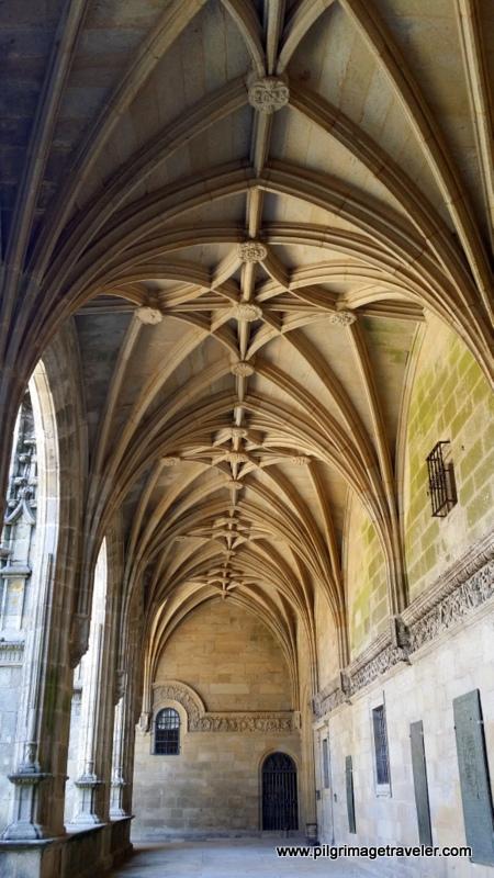 Cloister Hallways of the Cathedral of Santiago de Compostela, Spain