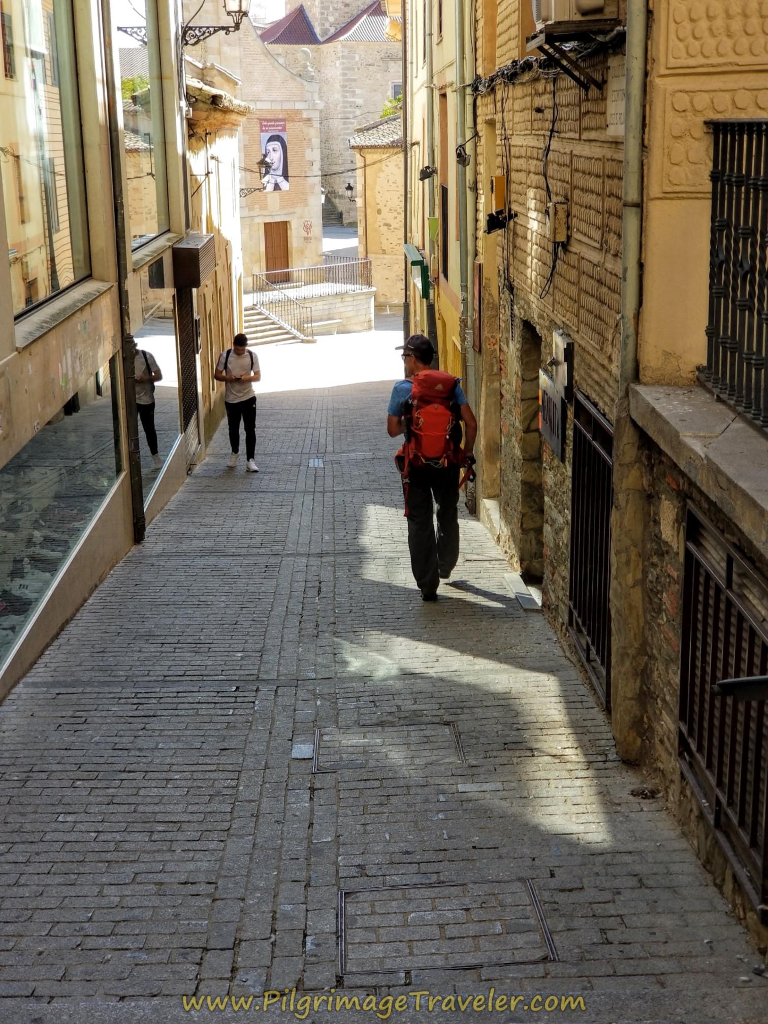 Calle Sanchez Llevot, Alternative Path