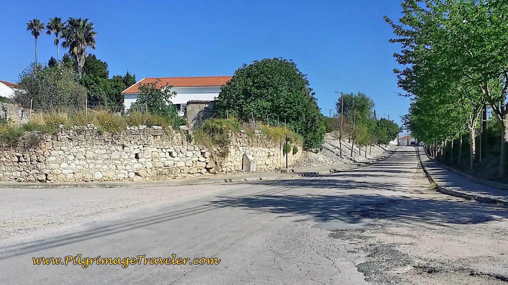 Vale de Figueira, Portugal on the Camino de Santiago