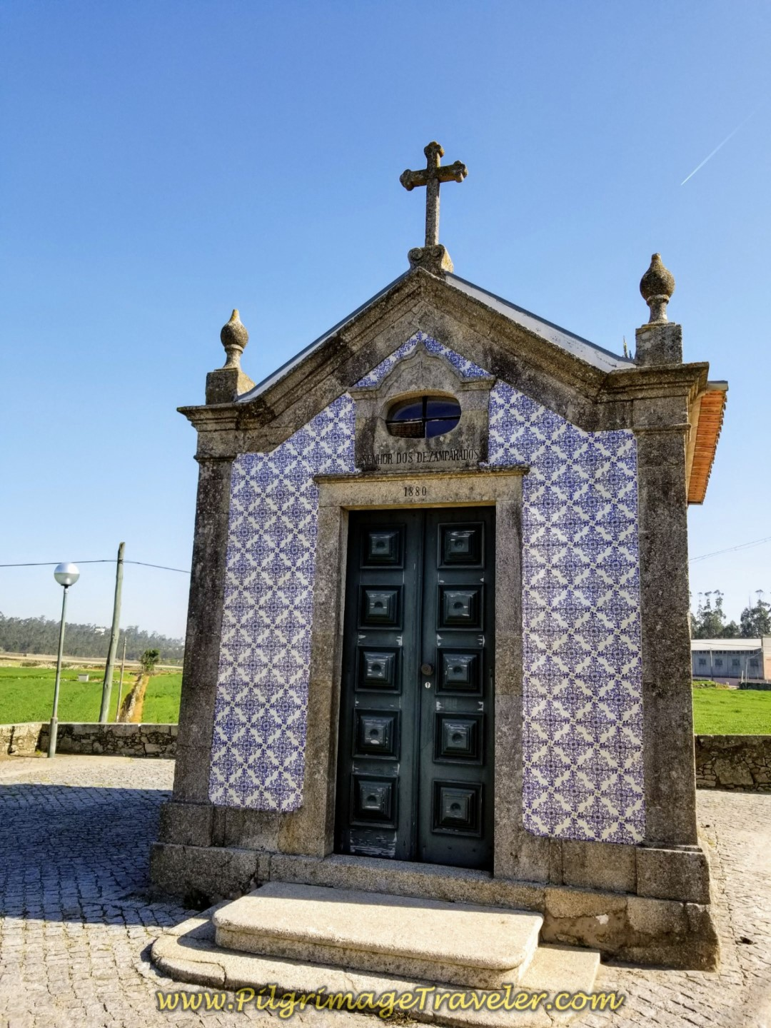 Chapel in Arcos on day sixteen on the Central Route of the Portuguese Way