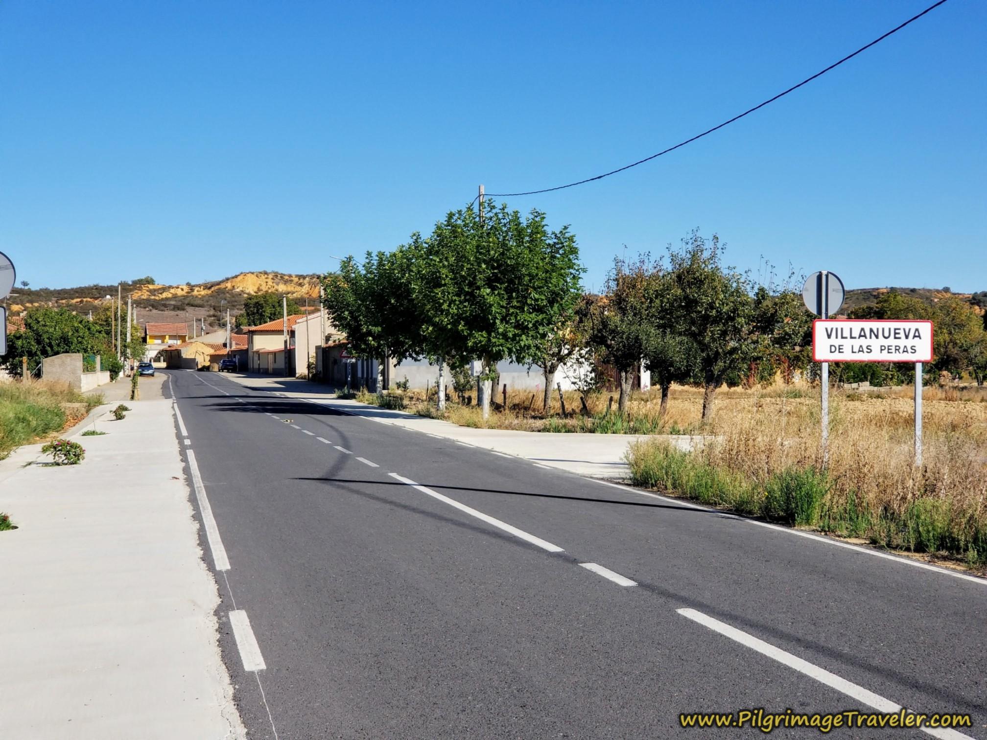 Welcome to Villanueva de las Peras