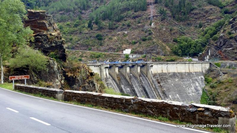 The Dam at Grandas de Salime, Asturias, Spain