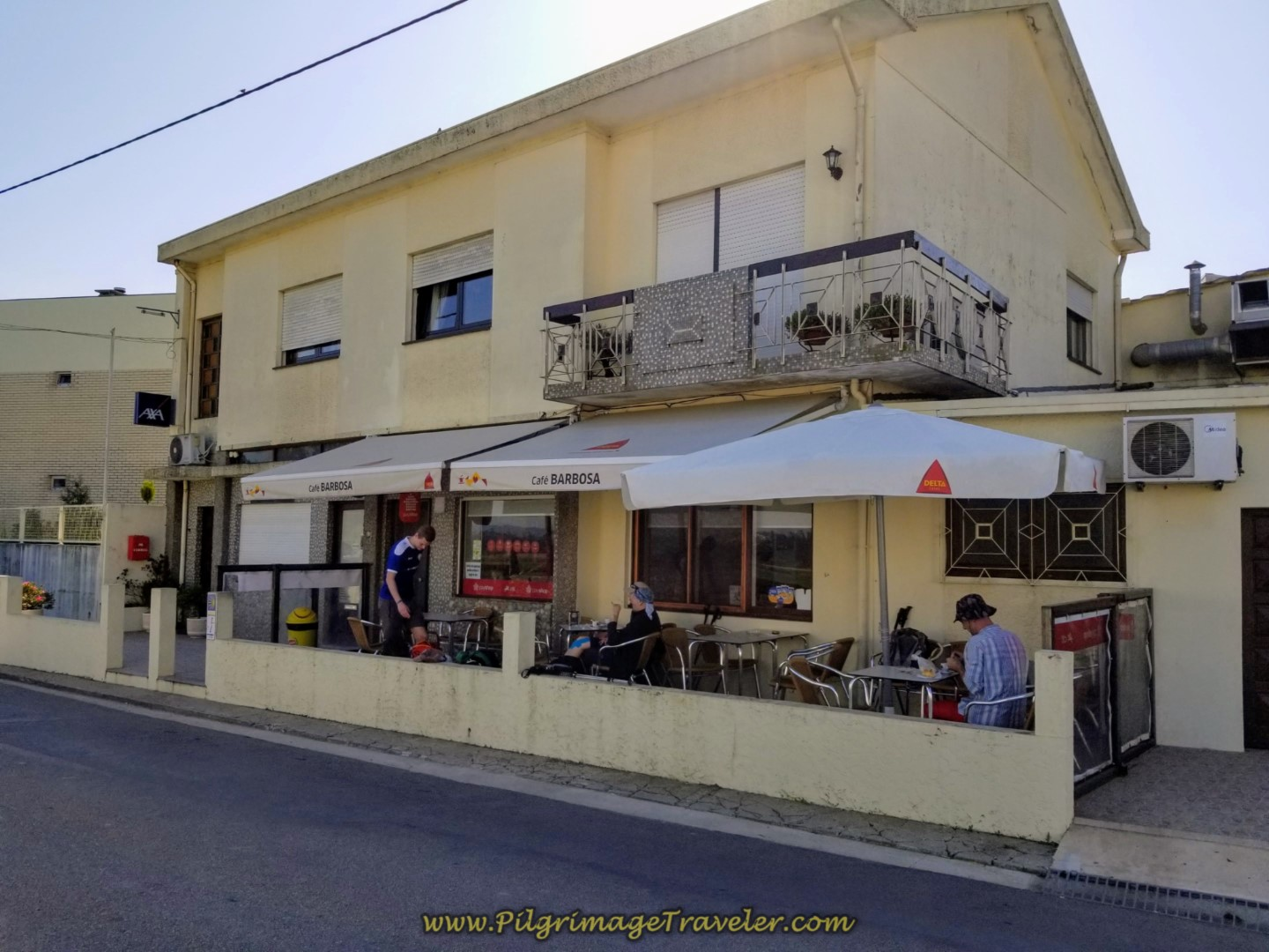 Café Barbados in Arcos on day sixteen on the Central Route of the Camino Portugués
