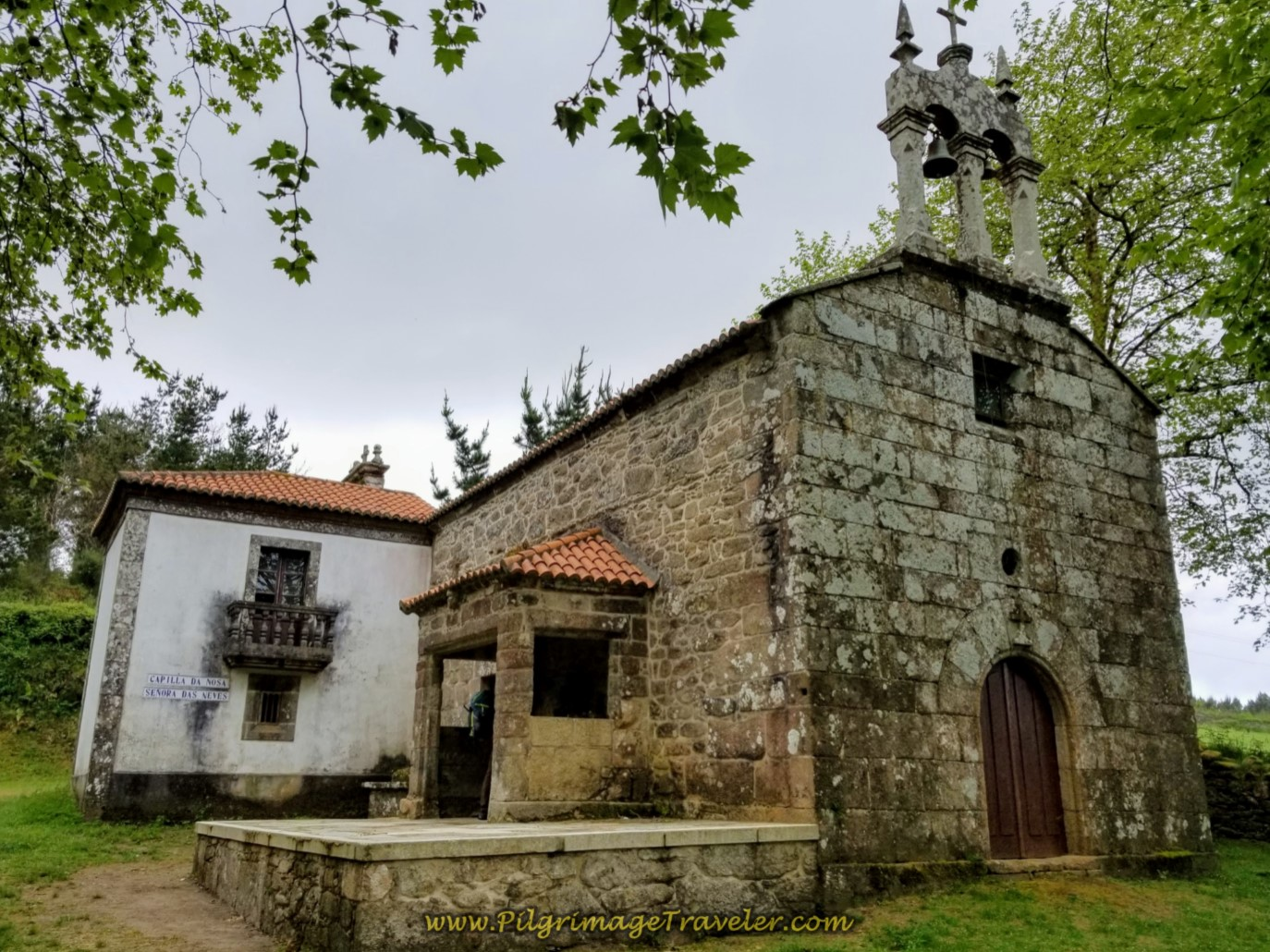 Capela da Nosa Señora das Neves on day three of the Camino Finisterre