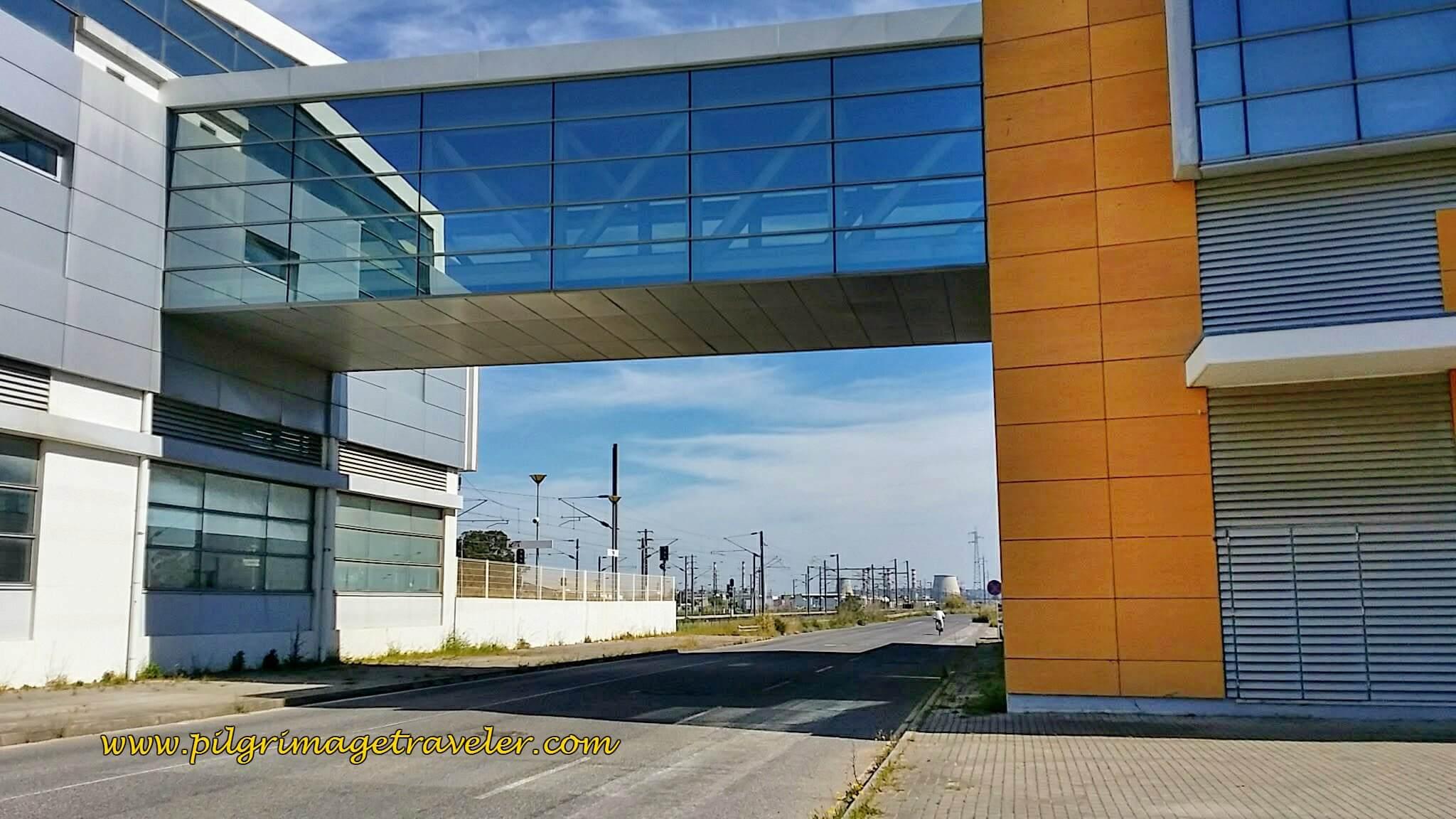 Castanheira do Ribatejo Train Station along the Portuguese Way