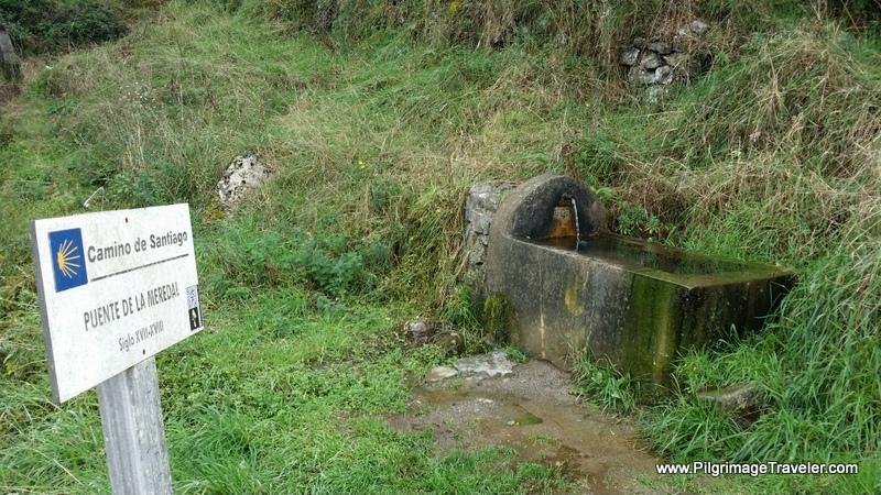 Puente de la Meredal, Camino Primitivo