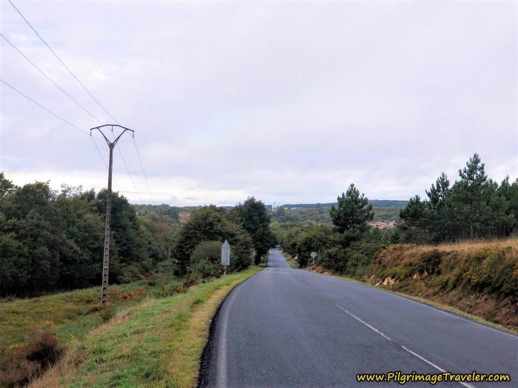 Road to Alberguería, Camino Sanabrés,  A Laza to Vilar de Barrio