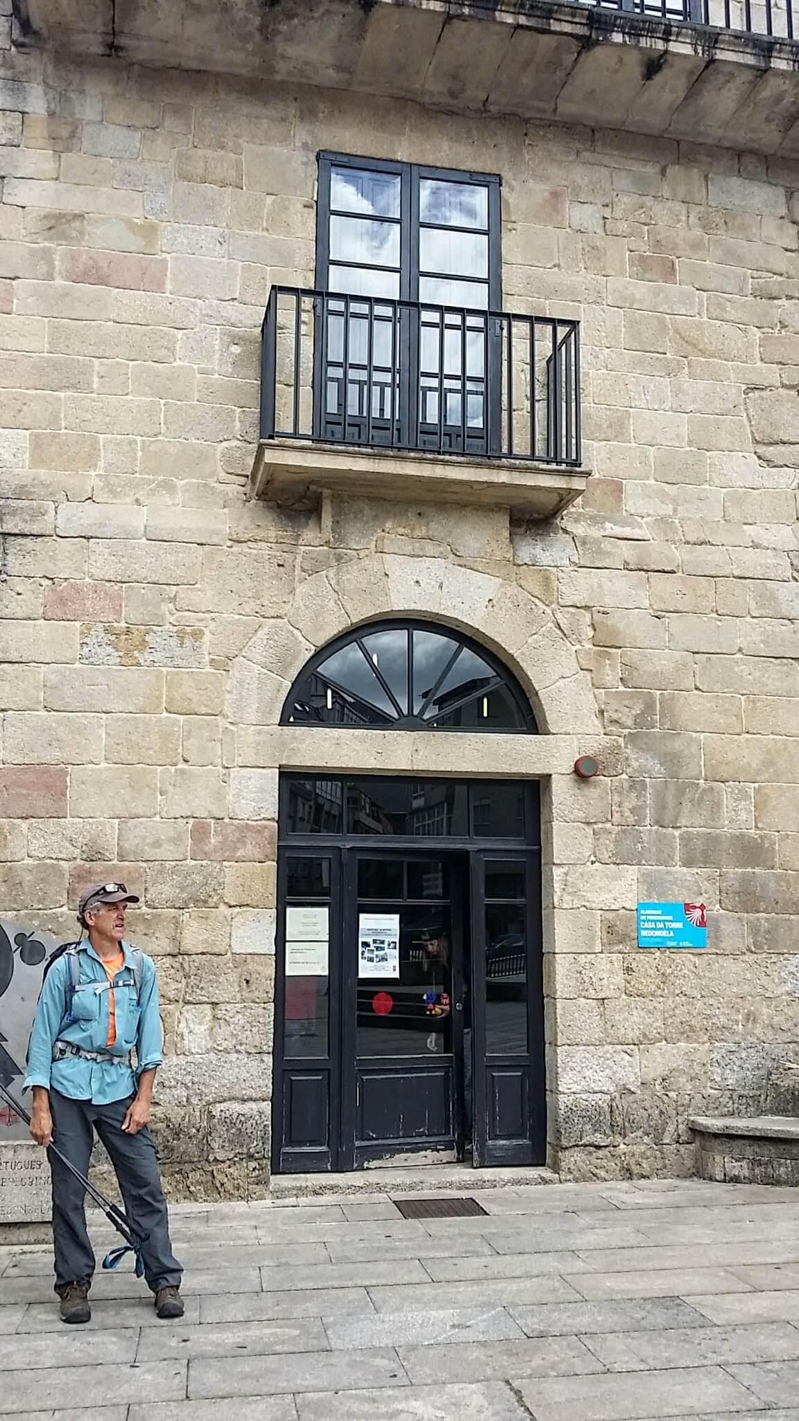 The Municiple Albergue of Redondela on day twenty-one of the Camino Portugués