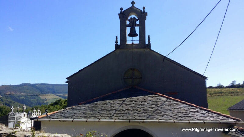 Church in A Degolada, Galicia, Spain