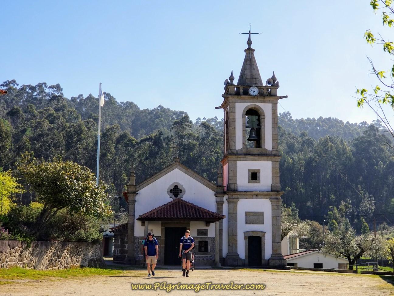 Capela da Senora da Portela XVII on day seventeen on the Central Route of the Camino Portugués