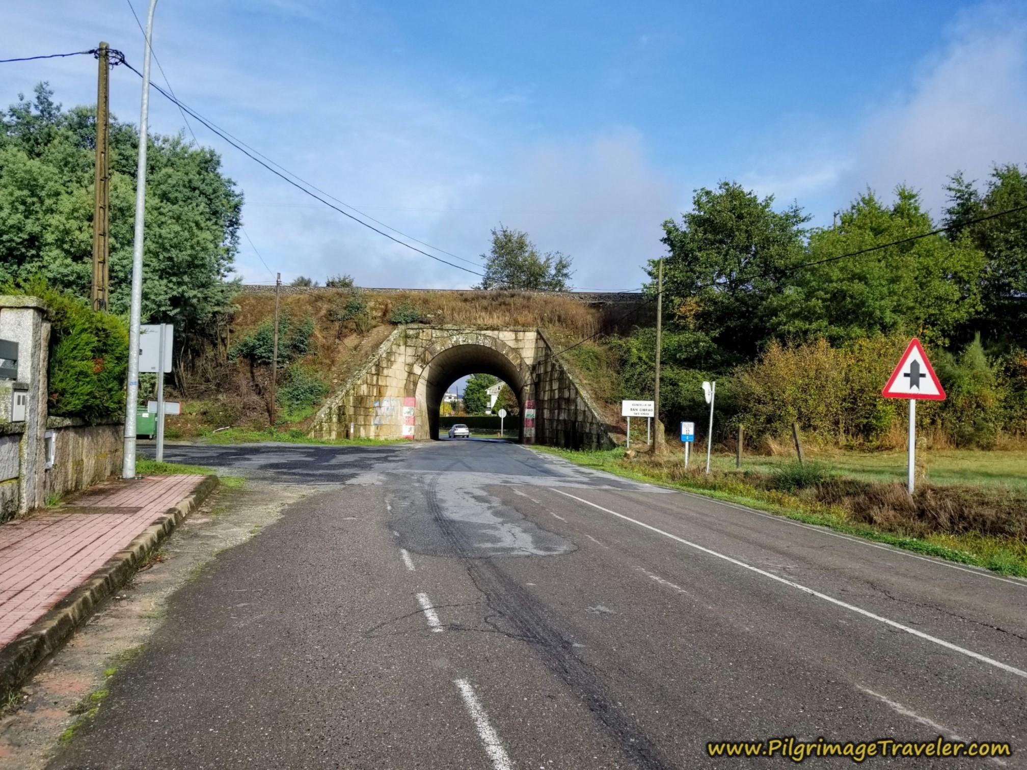Walk  Under Railroad Tracks