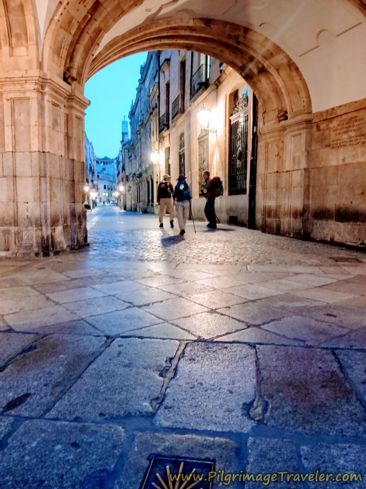 Plaza Mayor Archway Exit