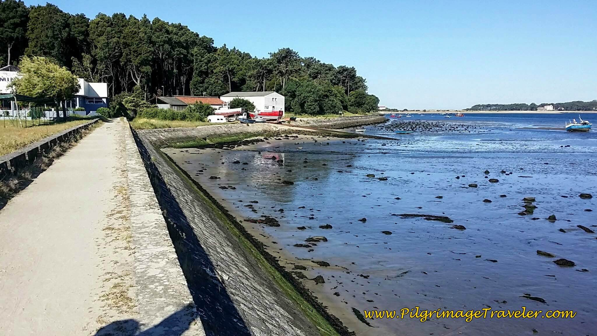 Leave Road and Continue Along the Quay of the Minho River on Day Nineteen, Camino Portugués