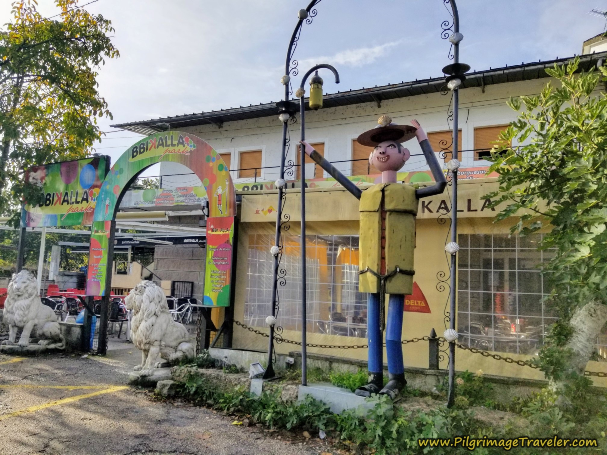Bbikalla Park, Camino Sanabrés, Xunqueira de Ambía to Ourense