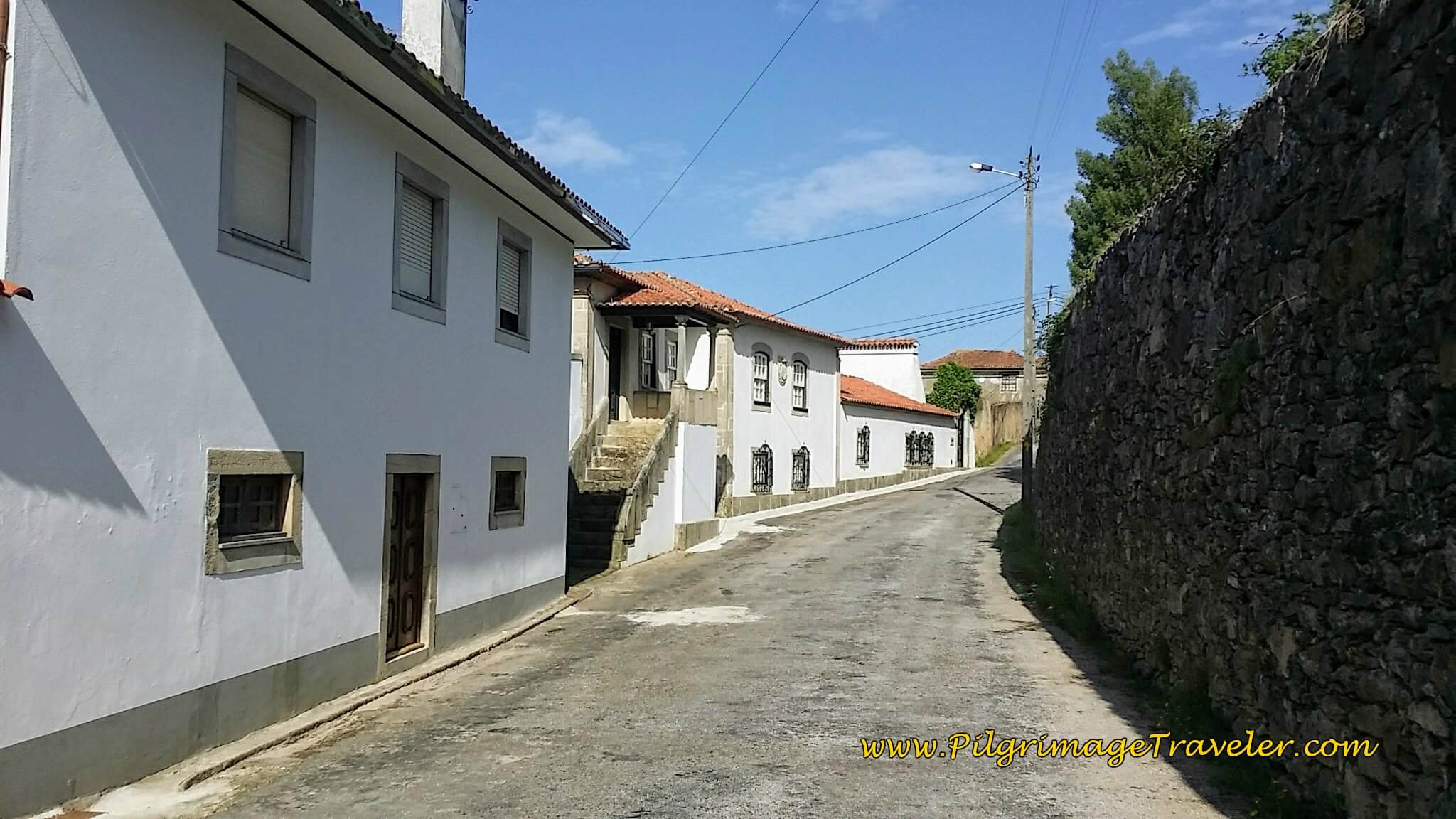 Continuing Through Bemposta on day thirteen of the Camino Portugués