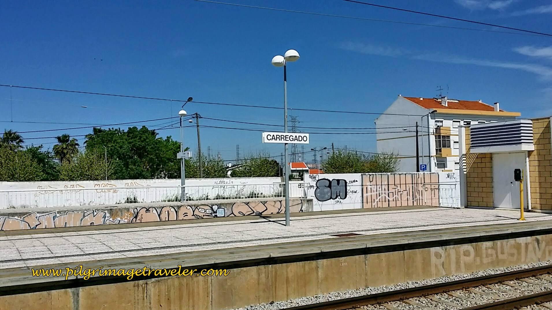 Carregado Train Tracks, Portugal