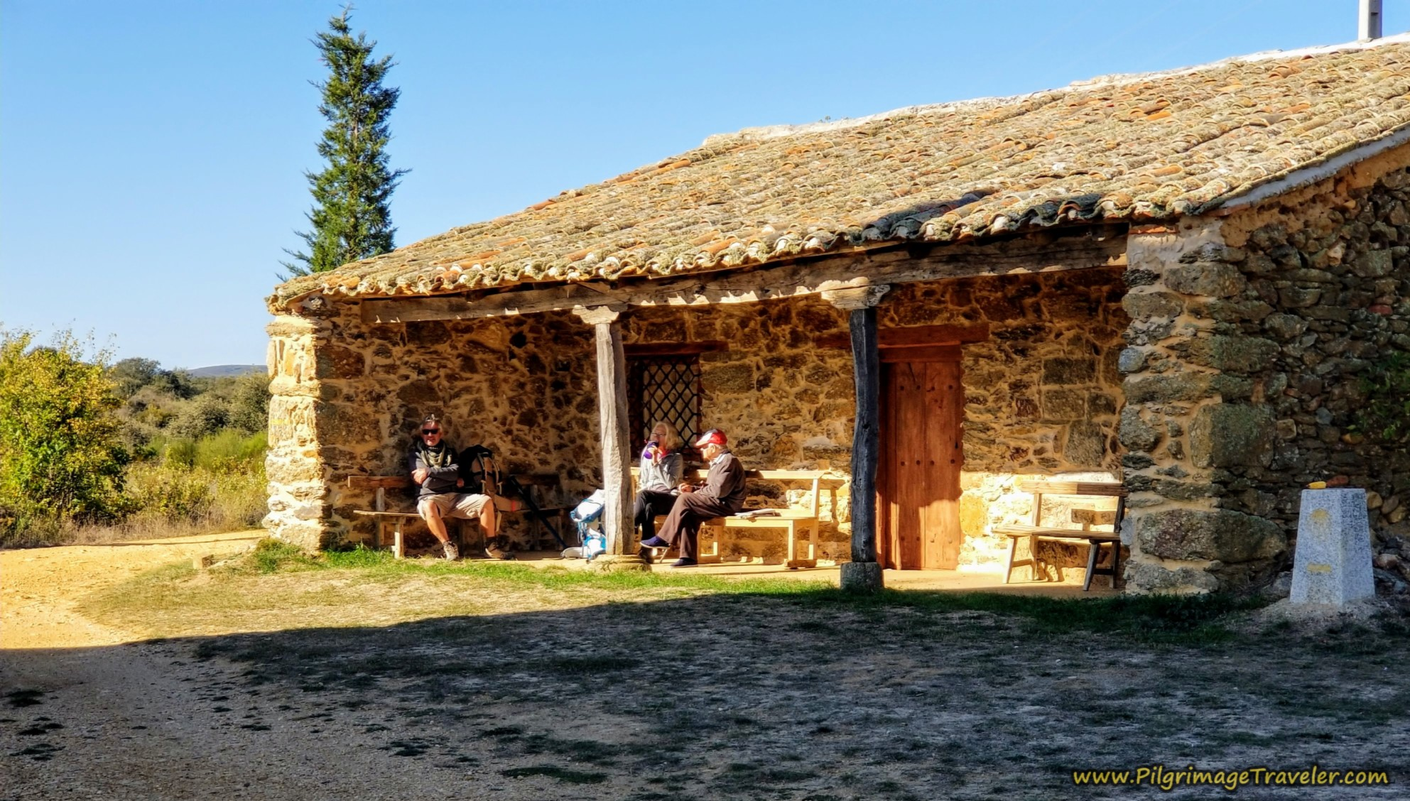 Lovely Rest Area by the Ermita Nuestra Señora de Agavanzal