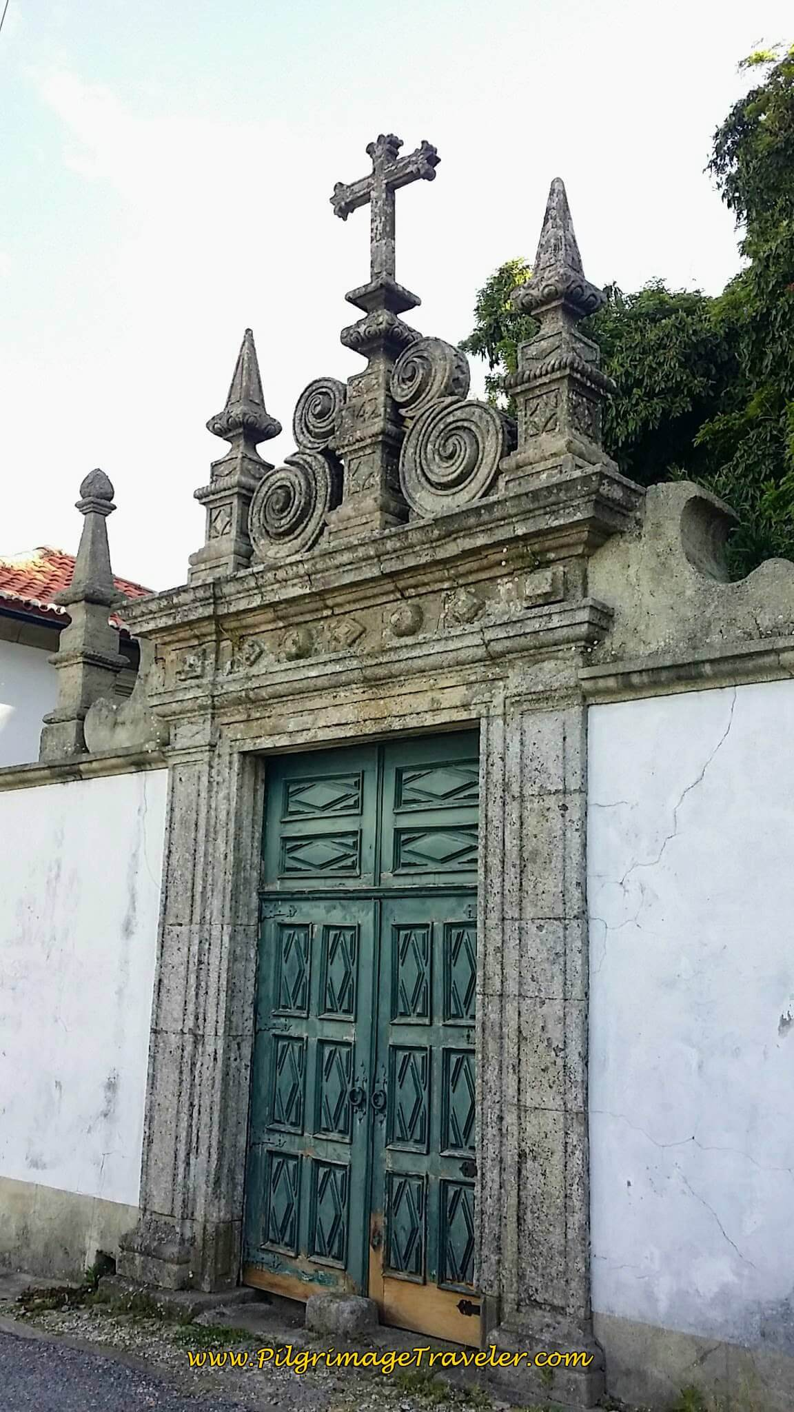 Most Interesting Gate in Bemposta on the Portuguese Way