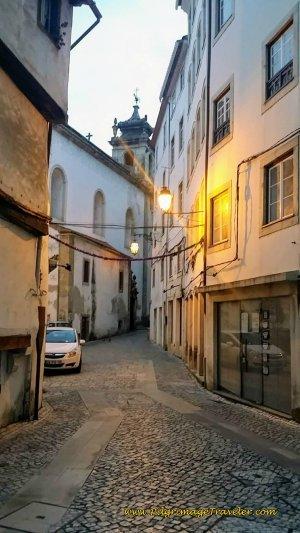 Rua dos Gatos in Coimbra, Portugal
