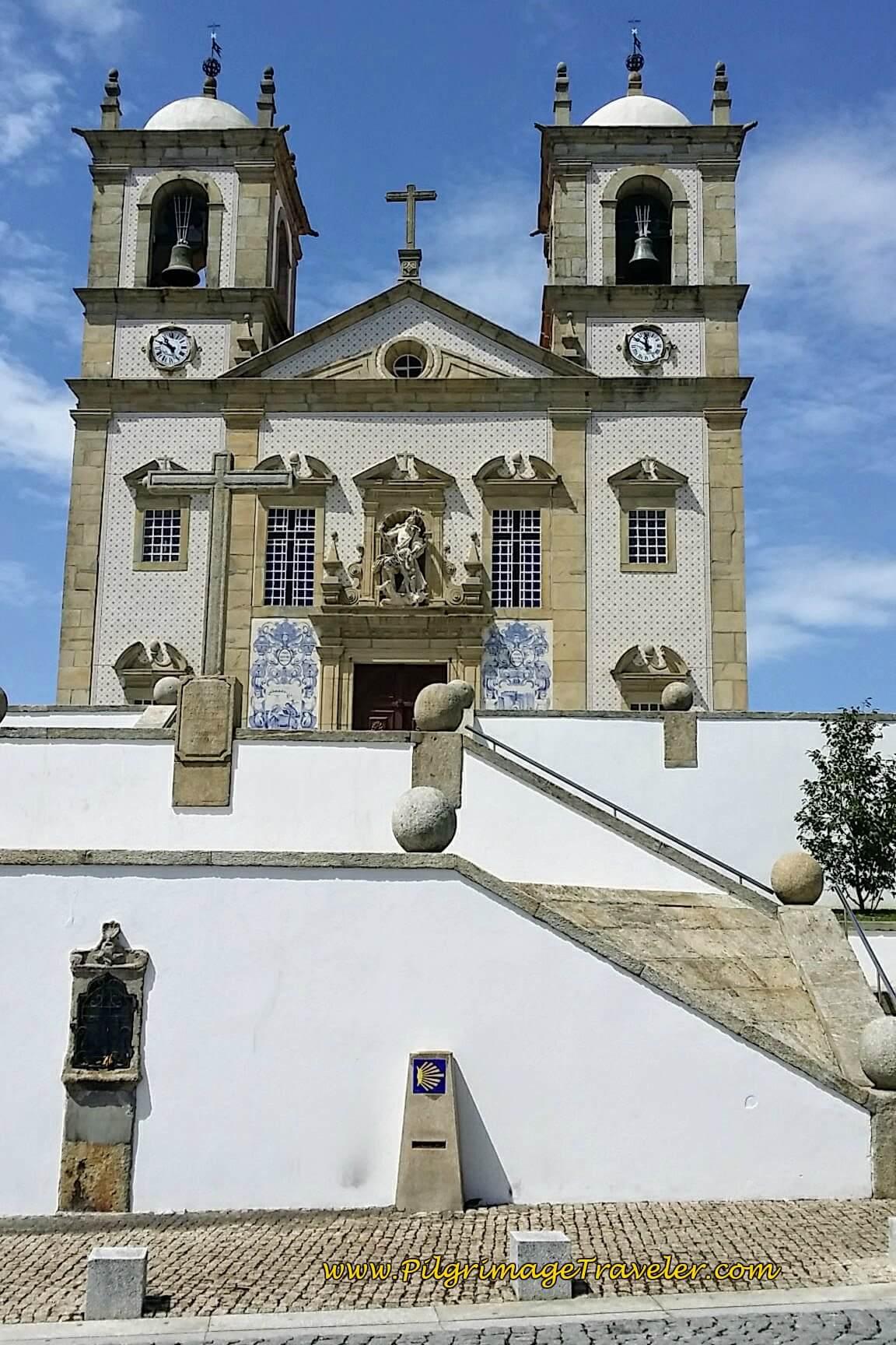 Igreja de Matriz in Central Oliveira de Azeméis on day thirteen of the Camino Portugués