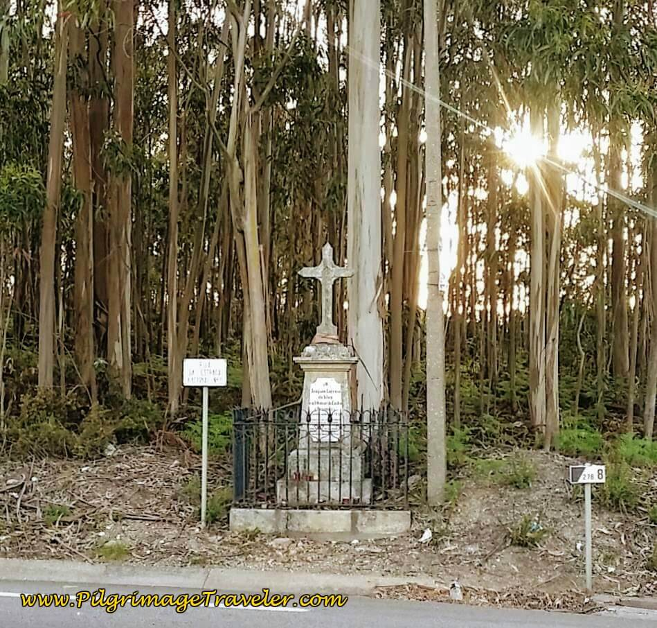 Shrine Along the IC2 on day fourteen of the Portuguese Way
