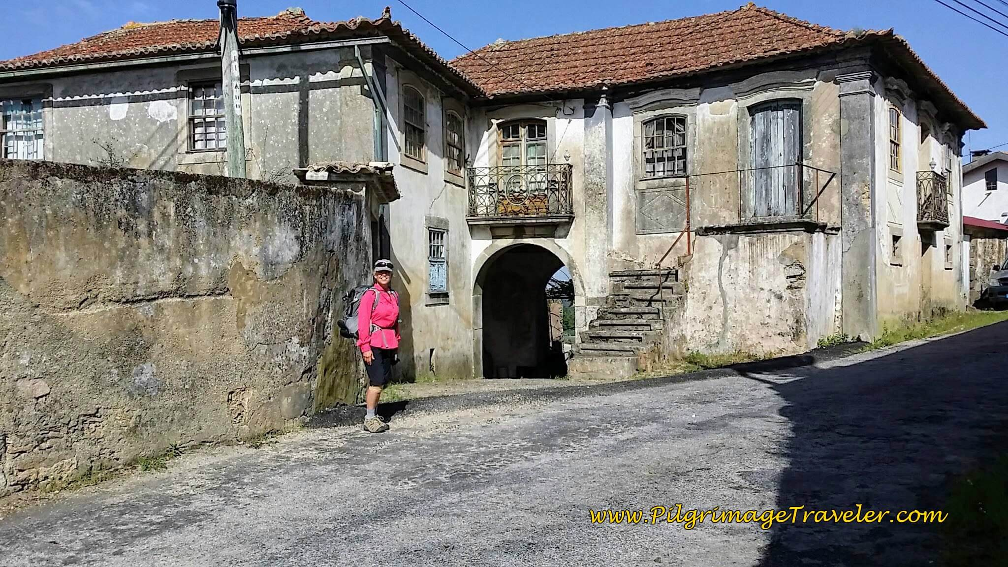 Another Intriguing Old Building in Bemposta on day thirteen of the Camino Portugués