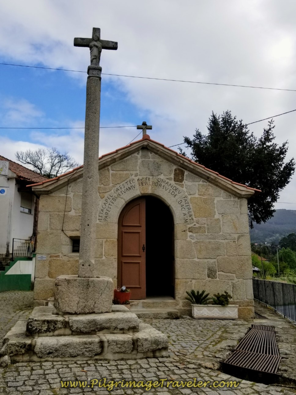 Pilgrim's Chapel in Revolta on day eighteen on the Central Route of the Portuguese Camino