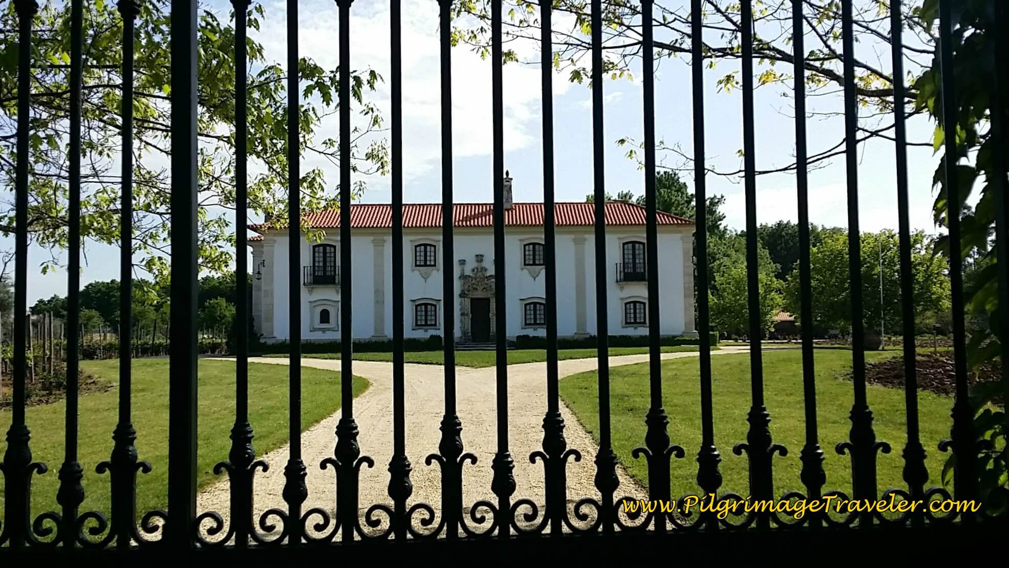 The Quinta da Grimpa on the Camino Portugués