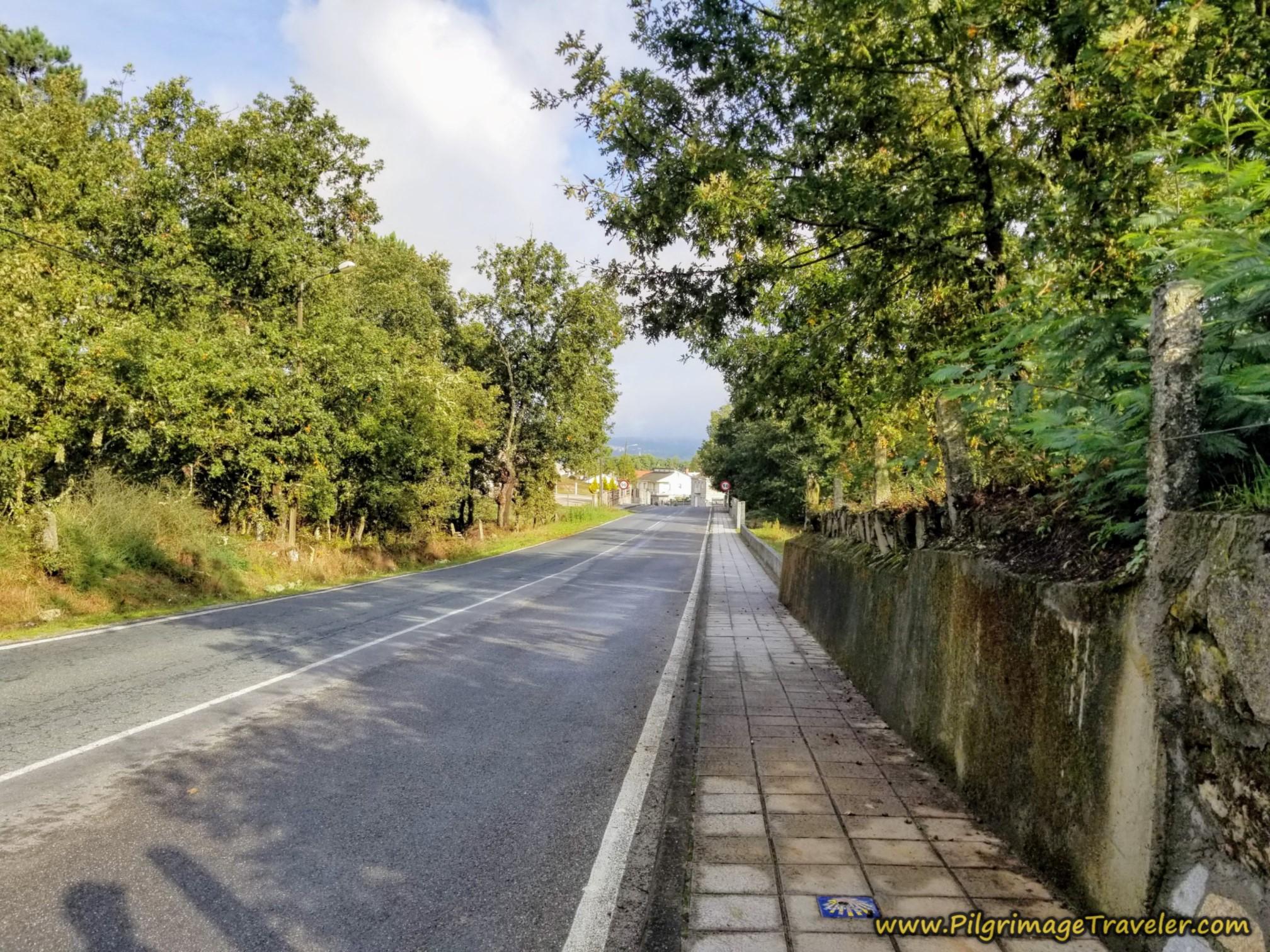 Road to A Castellana