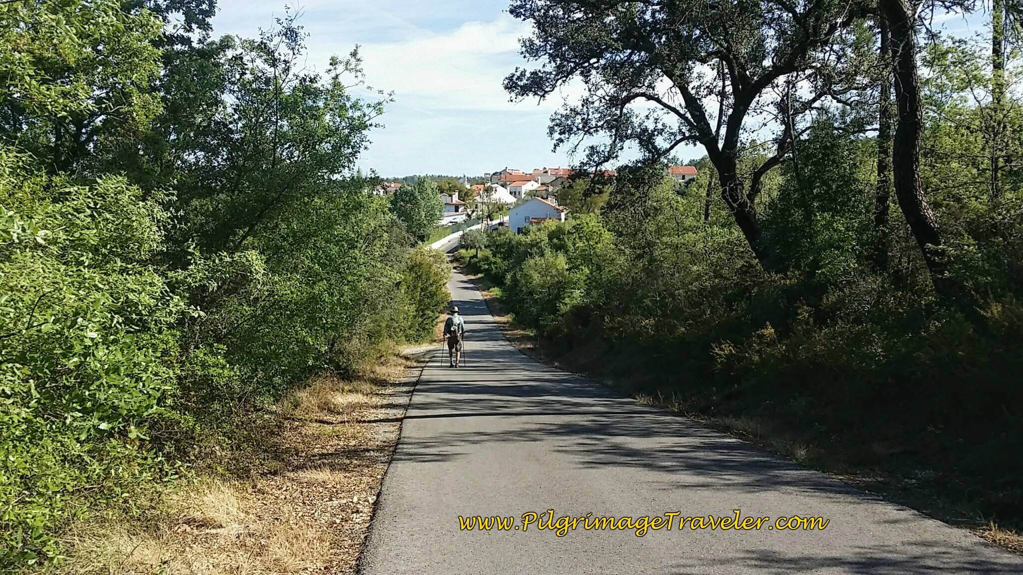 Rua Bairro Onward on the Camino in Portugal