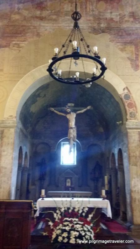 Altar of San Julián de los Prados, Oviedo, Spain