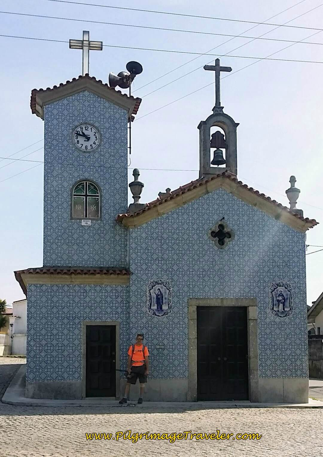 Capela de Santa Rita in Chamusca on day fourteen of the Portuguese Way