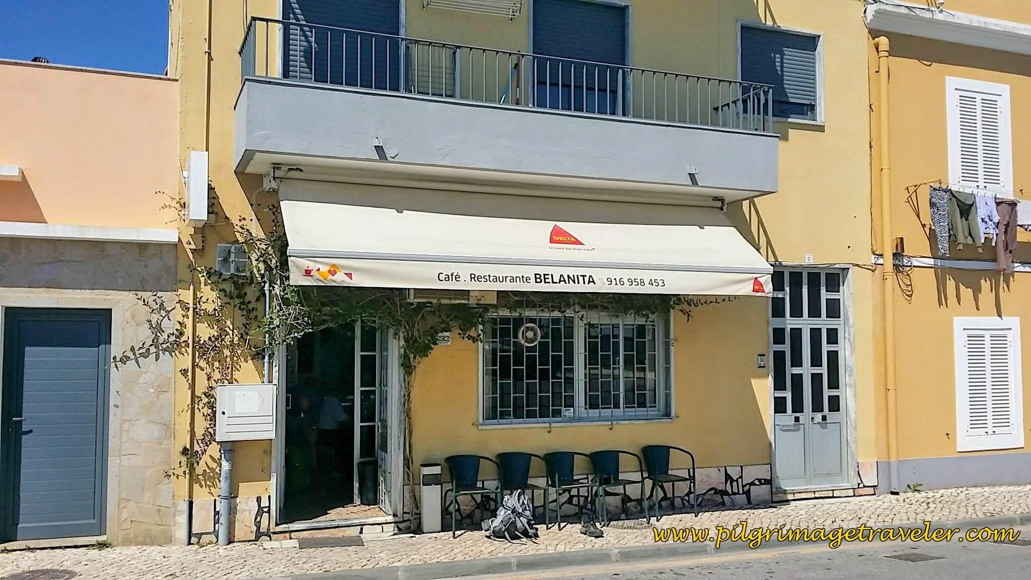 Café and Restaurante Belanita, Carregado, Portugal