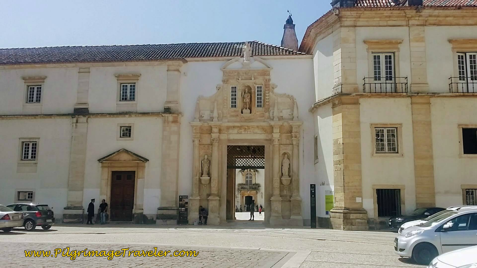 Porta Férrea, University of Coimbra, Portugal