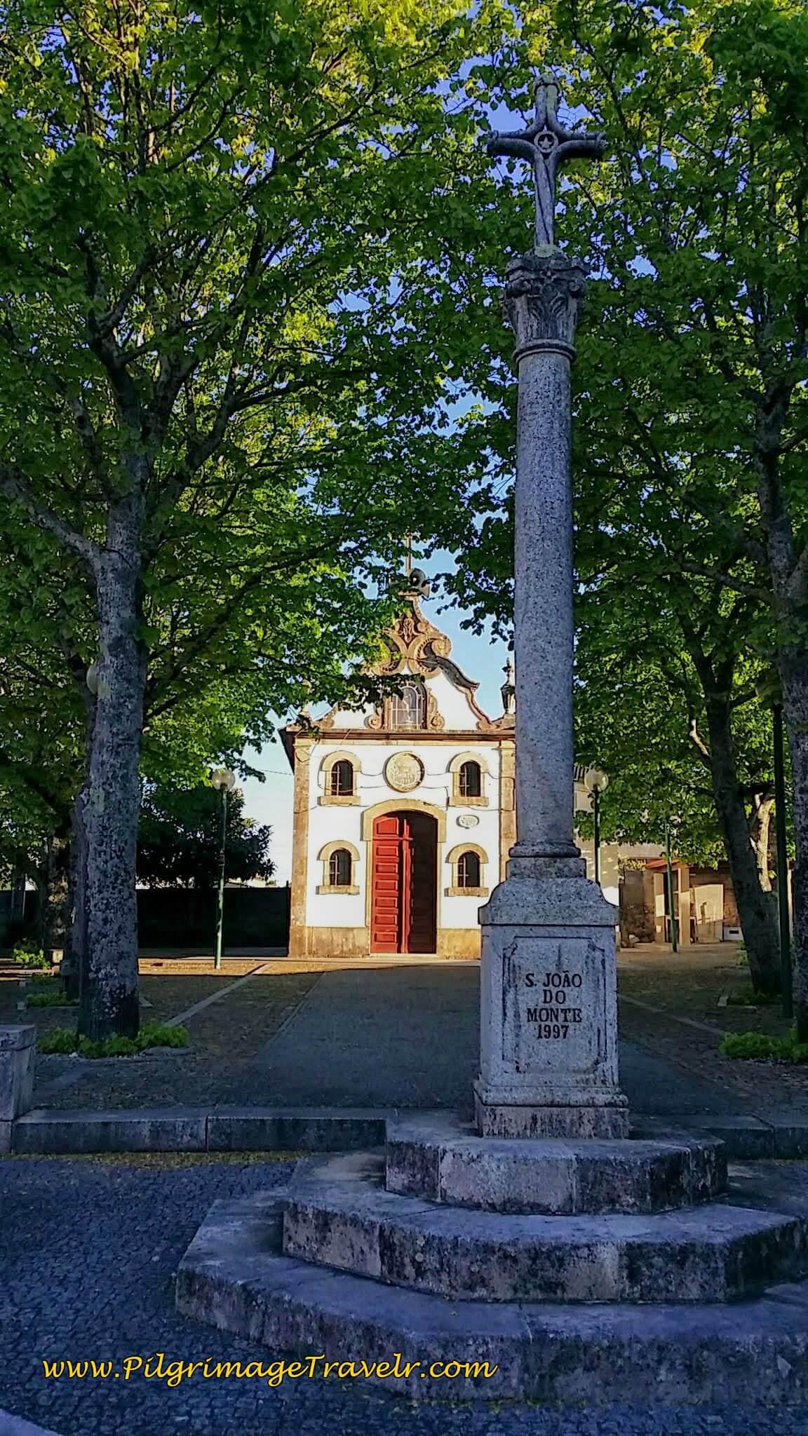 Capela de São João do Monte on day seventeen of the Camino Portugués