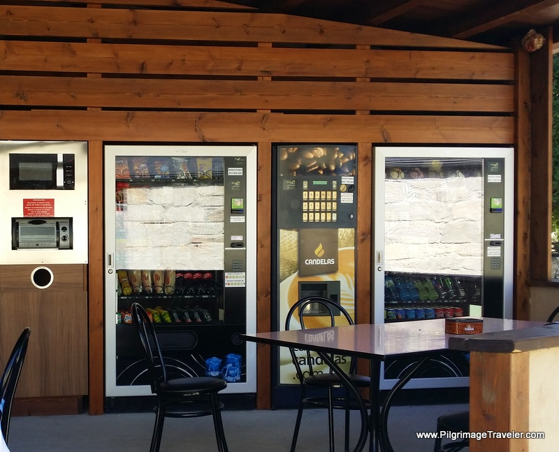 Modern and New Vending Machines in Gondar, Galicia, Spain