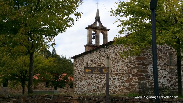 Church in San Paio on the French Way