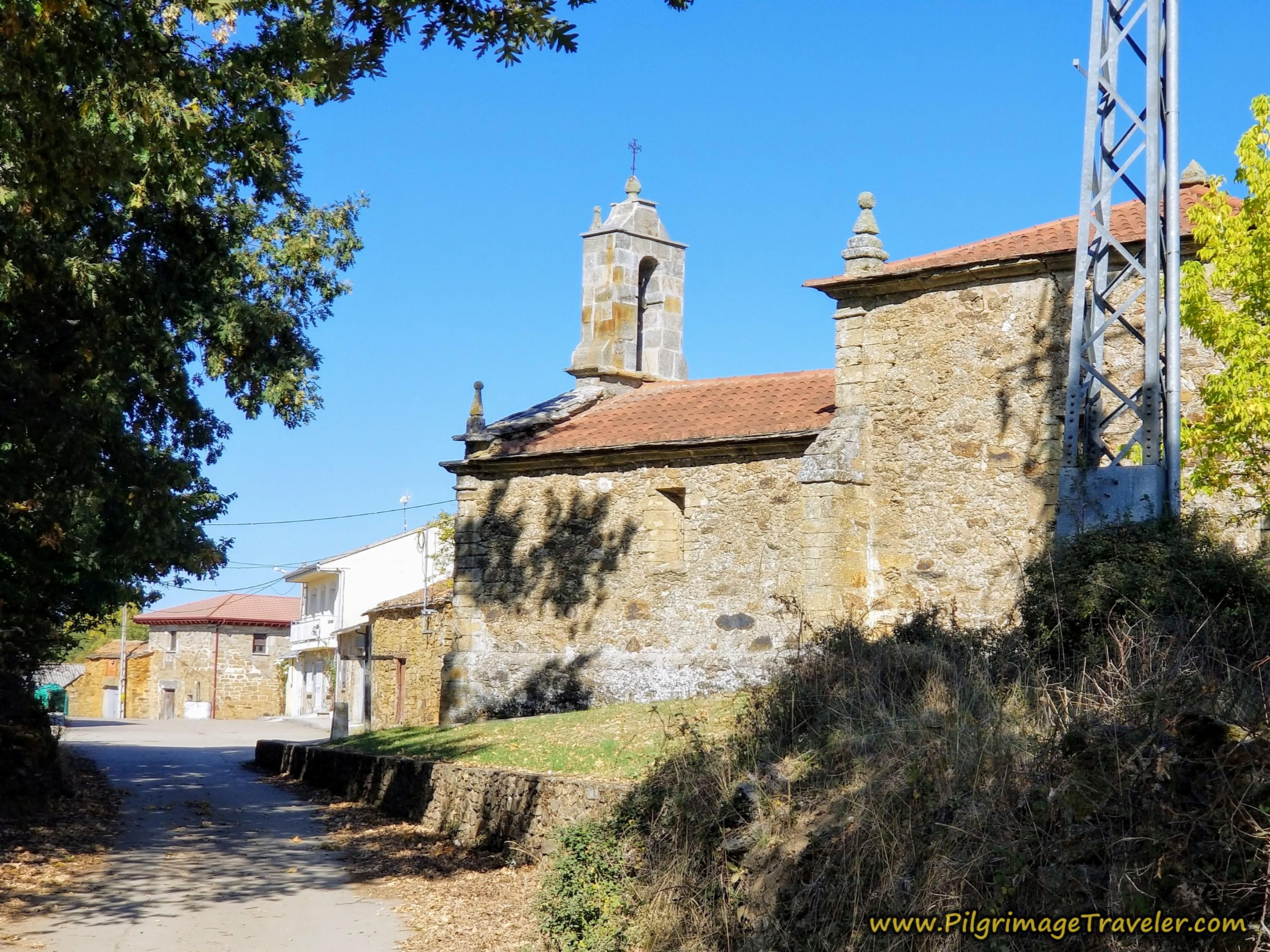 Ermita del Cristo, Cernadillo, Camino Sanabrés from Rionegro del Puente to Entrepeñas