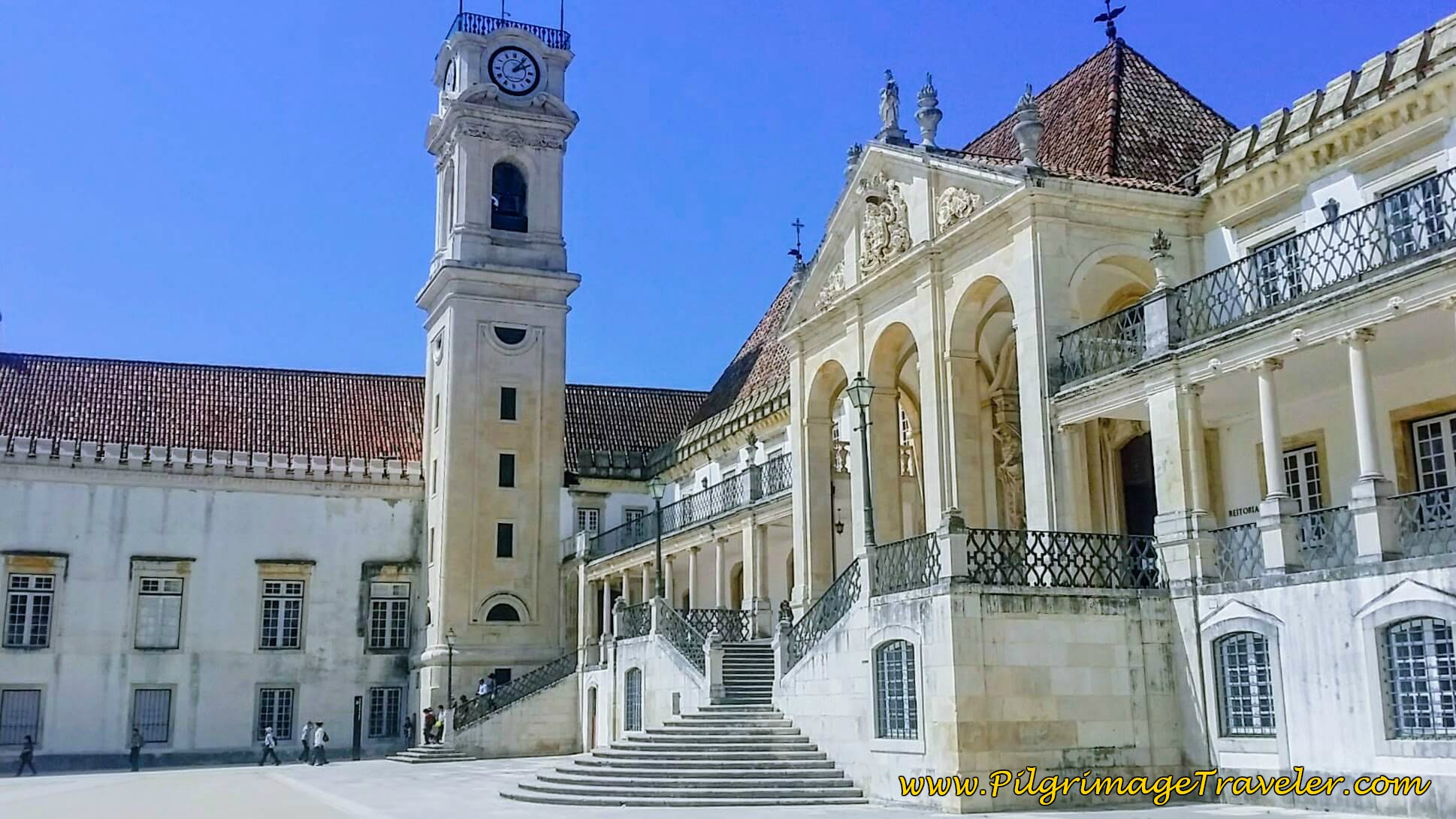 The University Clock Tower in the Paço das Escolas, University of Coimbra