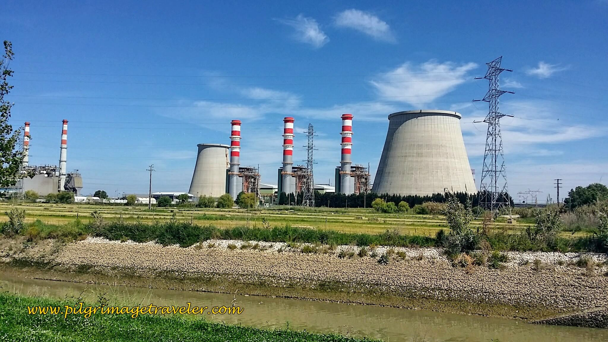 Ribatejo Power Station, Carregado, Portugal