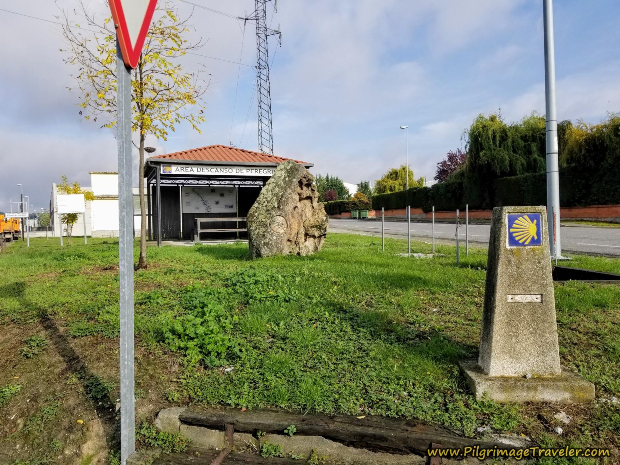 A Castellana Pilgrim's Rest Stop, Camino Sanabrés, Xunqueira de Ambía to Ourense