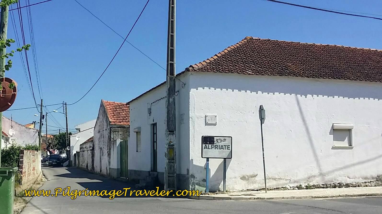 Entering Alpriate, Portugal