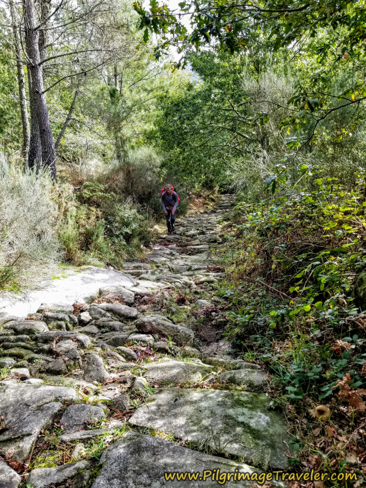 Very Steep and Rugged Roman Road