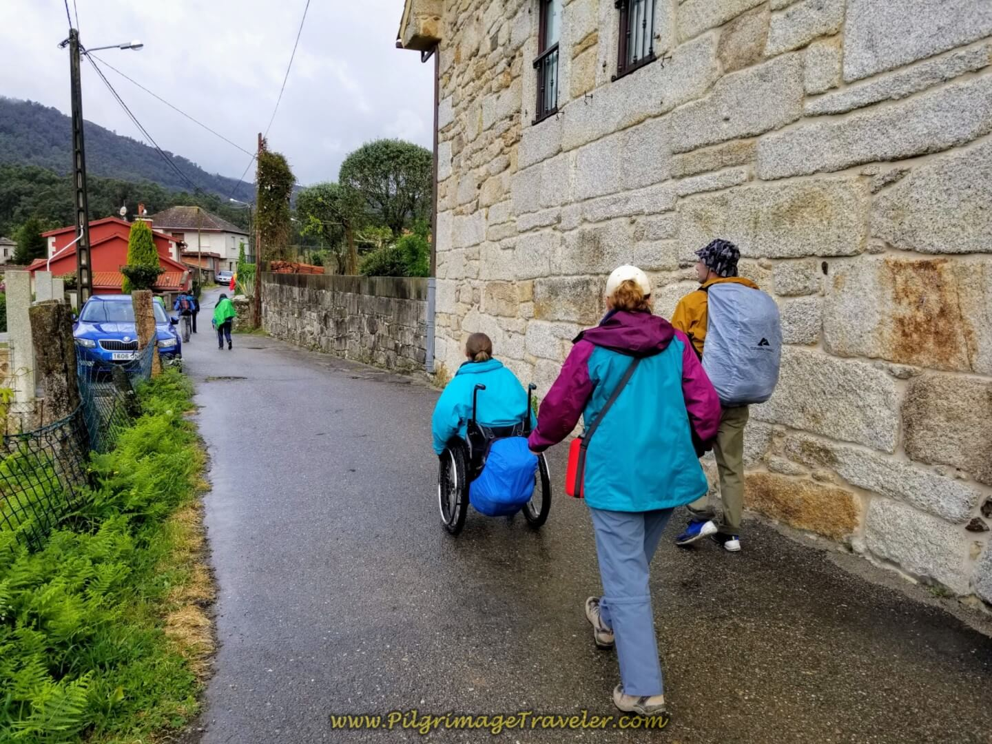 Walking Through A Magdalena on day twenty on the central route of the Portuguese Camino