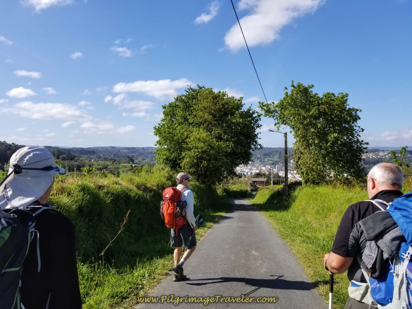 Betanzos is within view on day five of the English Way