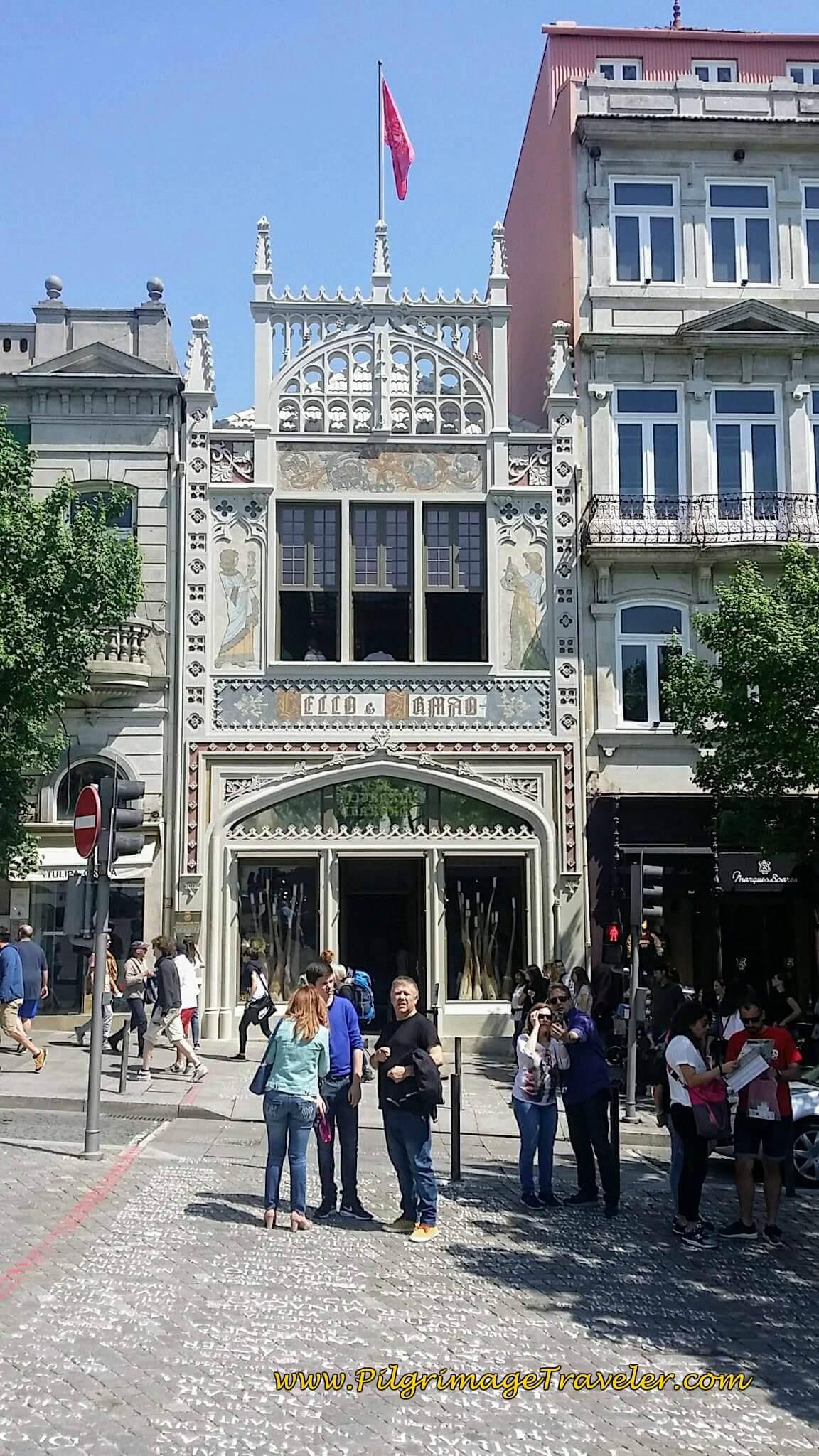 Livraria Lello & Irmão in Porto, Portugal